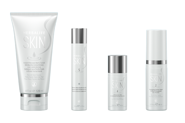 the products Herbalife skin