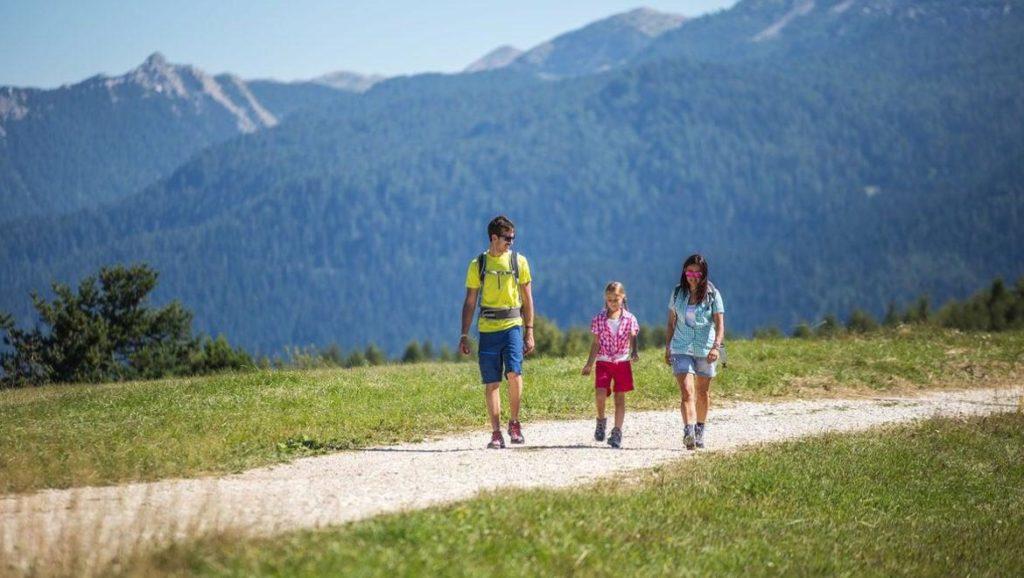 Trekking per la famiglia